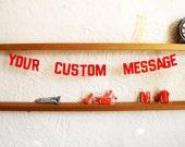 Custom Inspirational Message Garland