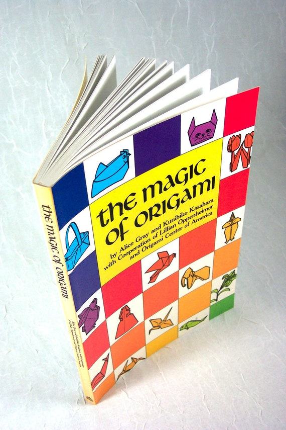 "Book ""The Magic of Origami"" How to Fold Origami Forms"