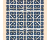 Letterpress Dice Print - Gamma Cephei