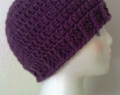 Easiest Hat in the Known Universe/Adult & Child Sizes to Crochet-PATTERN ONLY