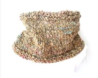 pdf knitting pattern chunky easy cowl
