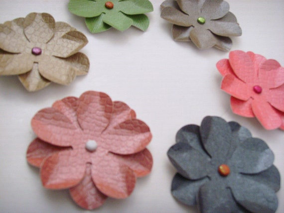 6 cardmaking embellishments