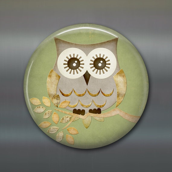 3 5 Cute Owl Fridge Magnet Owl Decor Kitchen Decor