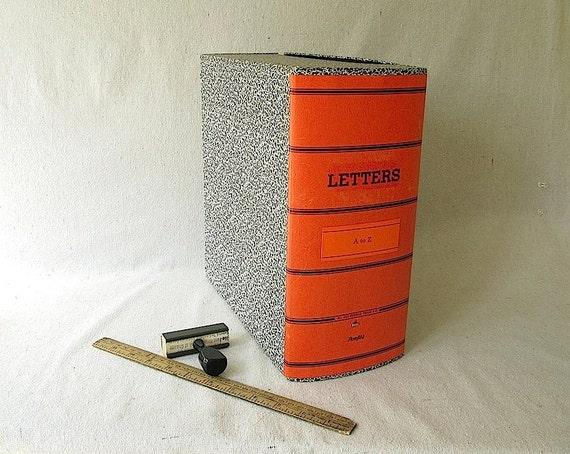 Vintage Letter File Box