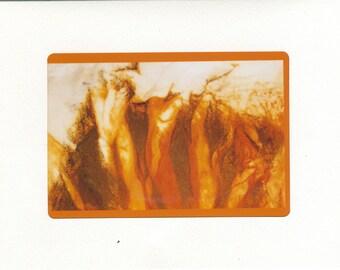 Orange Fire Figures