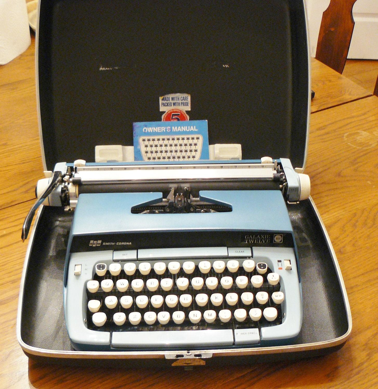 smith corona typewriter repair manual