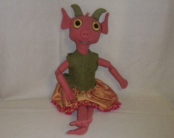 Blush the Goblin Doll