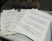 75% off enter LOVE2016.  Vintage Music Sheets, Gift Wrap, Valentine's Day Gift Wrap, Music Sheets, DIY, Wedding