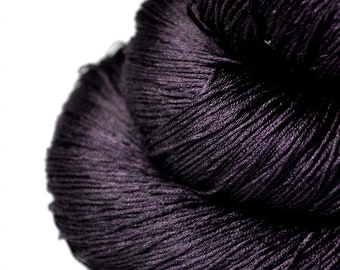 Last dance - Silk Lace Yarn - knotty skein