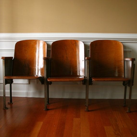 Folding Foyer Bench : Movie theater chairs reserved for francois man furniture