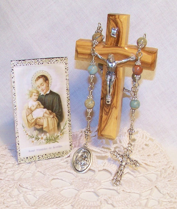 Unbreakable Chaplet of St. Stanislaus de Kostka - Patron Saint of Osteopaths and Against Broken Bones