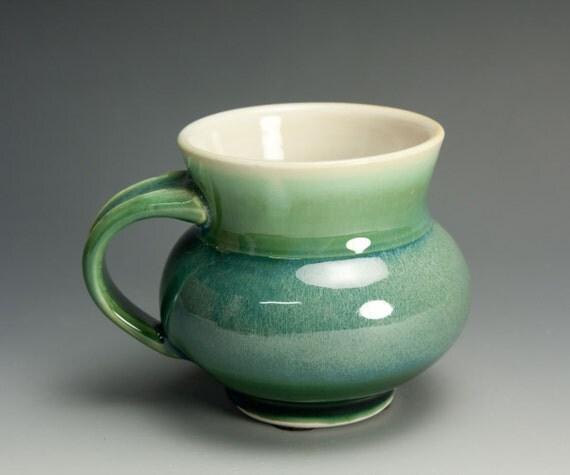 Porcelain handcrafted coffee mug or tea cup 571