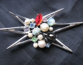 Emmons Large Mod Brooch - 1960's