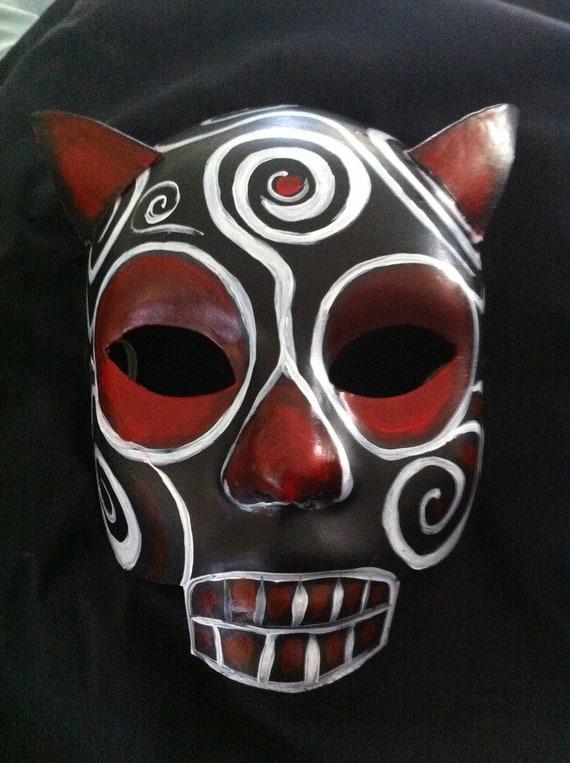 Devil Mask, Day of the Dead, Halloween, Sugar Skull Mask