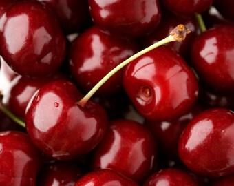 BODY SCRUB ~ Black Cherry Body Scrub ~ Sugar or Sea Salt Body Polish 8 oz Jar