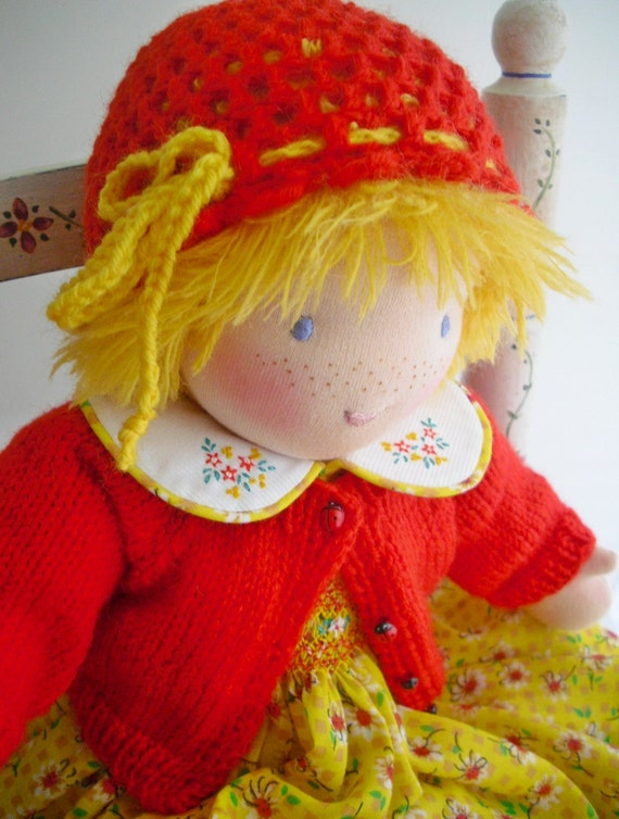 Waldorf Custom Doll...18 Inch Dress-Up Doll..Deposit Listing...Made To Your Order...