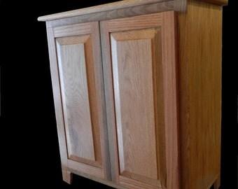 oak towel storage bathroom cabinet
