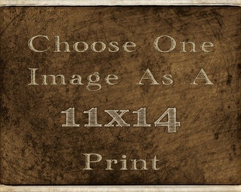 11x14 Custom Fine Art Photography Print - Your Choice of image printed by Joel Palmer Photography