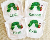 Very Hungry Caterpillar Party Favors - Bib Set of 4