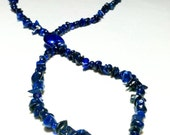 Lapis Lazuli Lasso Necklace by 2CarasCreations