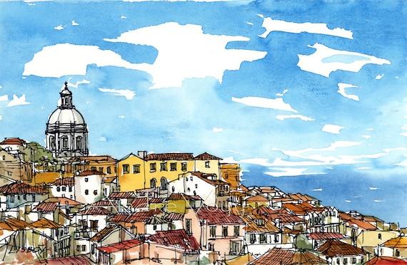 Рисуем португалию