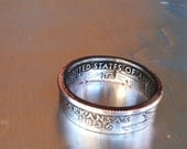 2004 Arkansas State Quarter Coin Ring  You Pick Size 5 to 13 by Custom Coin Rings