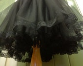 50s Dream - Tulle and Lace Yoked Crinoline, Wedding Petticoat, Tea Length