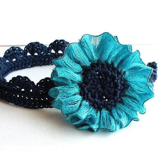 Crochet PATTERN (pdf file) Daisy Headband (all sizes)