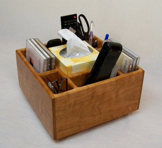 Items Similar To Tv Remote Holder Coffee Table Caddy