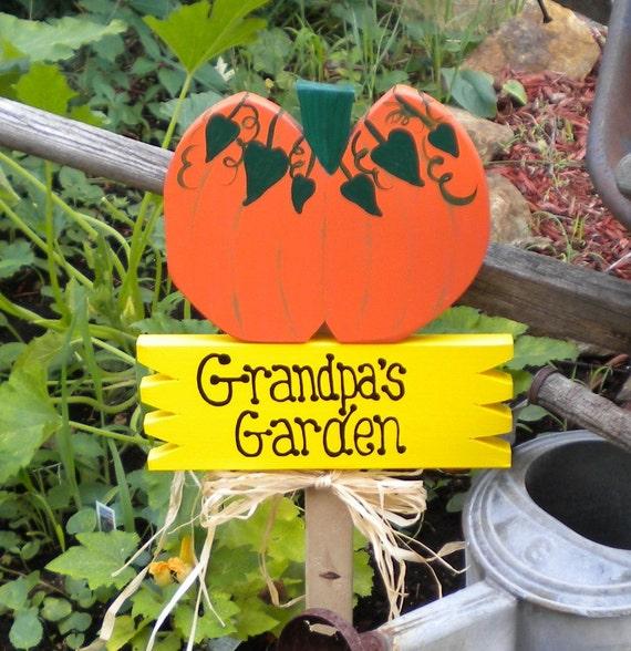 Yard Sign 90 - Grandpa's Garden