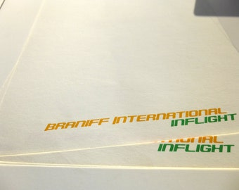 Alexander Girard - Braniff International Stationary