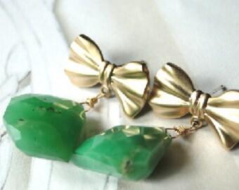 Jewelry, Drop Earrings, Retro Earrings, Statement Earrings Dangle Earrings, Gemstone Earrings, Accessories, Gift for Her, Stocking Stuffer