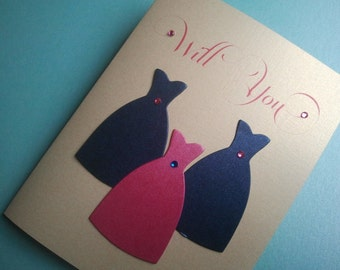 Serenity- Will You Be My Bridesmaid Cards