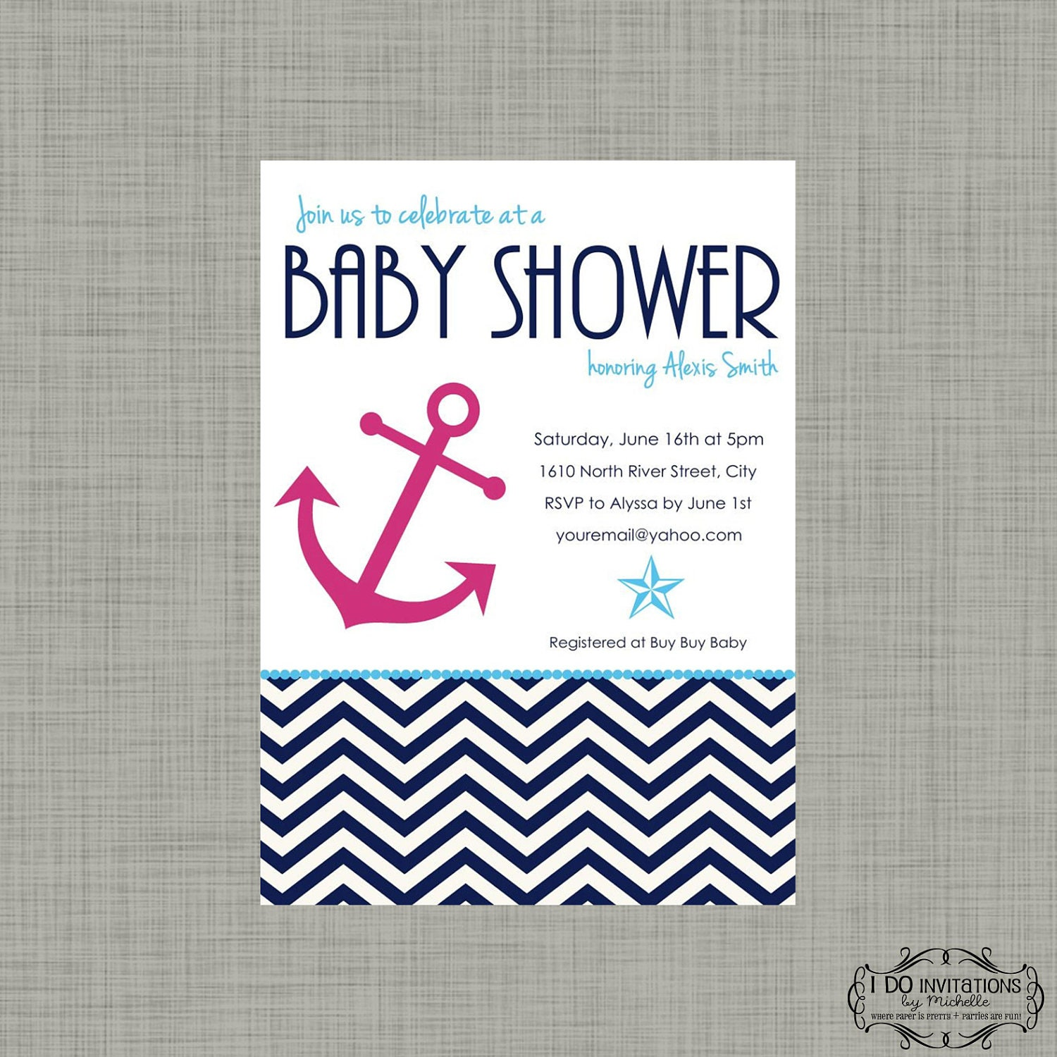 Sailor Baby Shower Invitations was perfect invitation design
