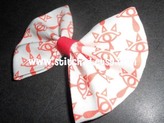 Sheikah Emblem Legend Of Zelda hair bow or bow tie
