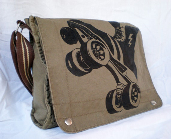 FTR Canvas Field bag -- Dark Khaki / sand