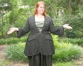 Plus Size Pirate Coat