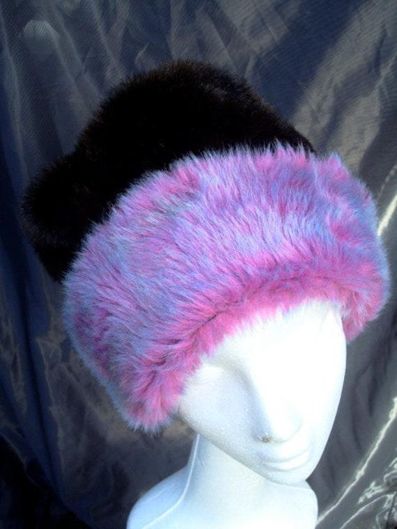 Fun Fake Fur Hat Faux fur