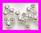 200pcs  2mm bright 925 Sterling Silver seam Beads round Spacer S32