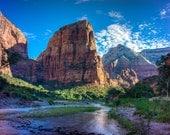Angel's Landing, Zion National Park, Fine Art  Photography, Nature Photography, National Park