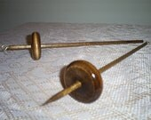 Handcrafted Bottom and Top Whorl Drop Spindle Kit 1.0oz. For Hand Spinning Yarn Free Shipping
