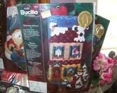 Felt Patterns - Christmas, Holiday, Stocking
