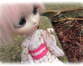 Spring/Summer yukata set for Pullip & Obitsu dolls