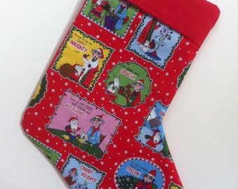 Maxine Christmas Stocking can be personalized