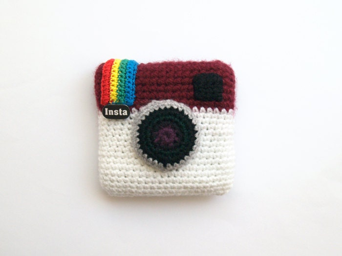 Special offer Instagram crochet camera amigurumi gift