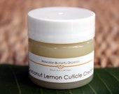 Coconut Lemon Cuticle Cream