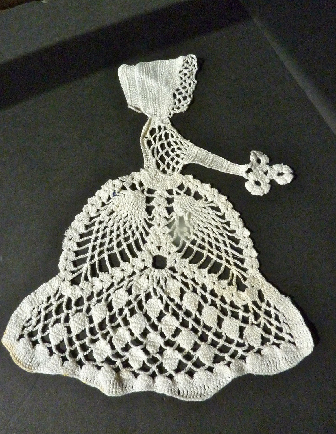 Crocheted Lace Victorian Lady