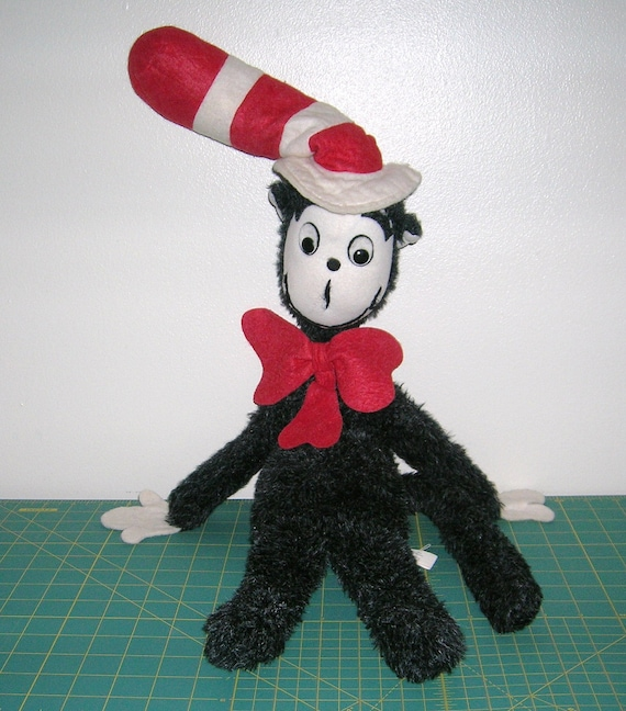 Cat In The Hat Actors: Vintage Dr. Suess Cat In The Hat Plush Doll