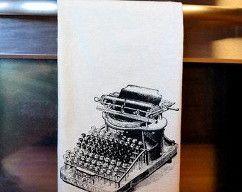 Vintage Typewriter Flour Sack Towel