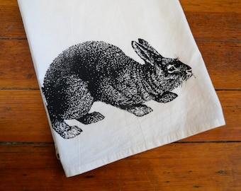 B. Poetic Bunny Flour Sack Towel